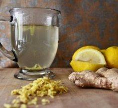 ginger lemon water