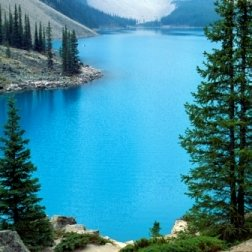 glacial mountain lake