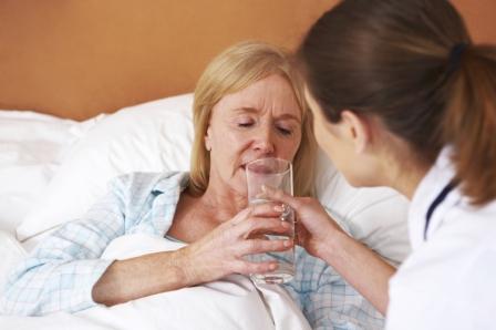 hospital drinking water