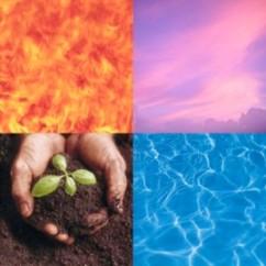 Fire air water earth