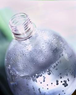 bottle of drinking water