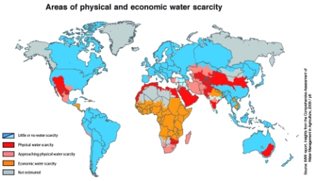 world water scarcity