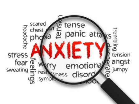 anxiety words