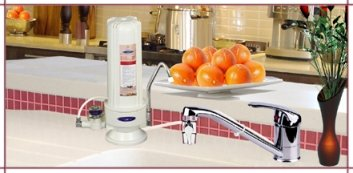 Crystal Quest countertop water filter