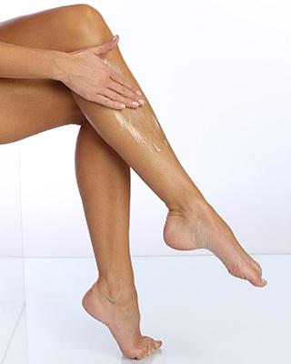 moisturize legs