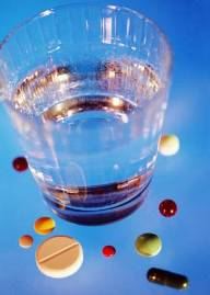 drugs and drinking water