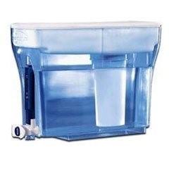 Zero water filter dispenser